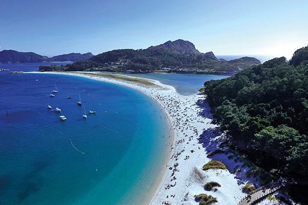 Rías Baixas- Islas Cíes