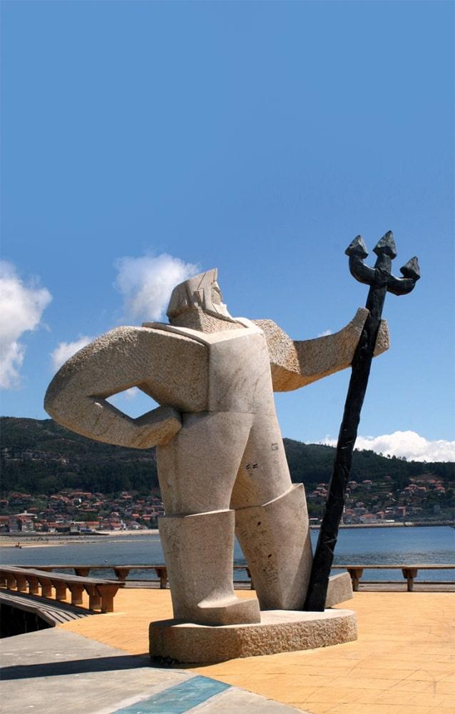 Escultura de O Fisgón