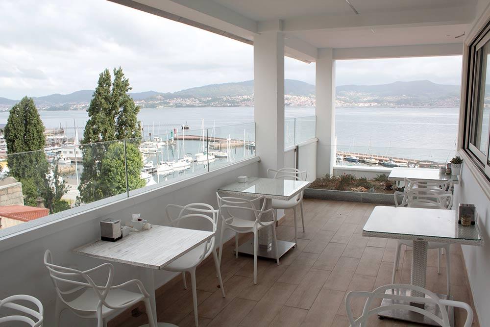 Ciudad de Vigo terraza